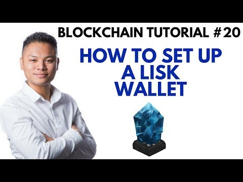 Blockchain Tutorial #20 – How To Setup A Lisk Wallet