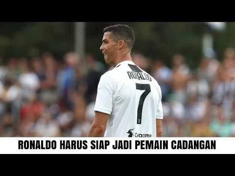Tak ada yang istimewa, Cristiano Ronaldo Harus Siap Jadi Pemain Cadangan di Juventus