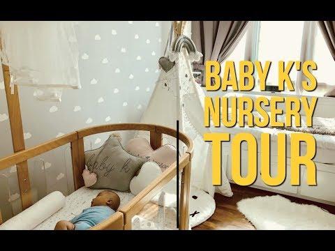 MY BABY BOY'S NURSERY TOUR | Naomi Neo