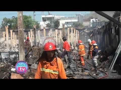 Kebakaran Pasar Pon, Benarkah Ada Hubungannya Dengan Rencana Pembangunan Pasar ? – bioztv.id