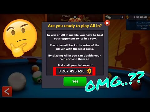 8 Ball Pool – All In ONE 3 Billion + Coins OMG 4.0.0 Latest 2018