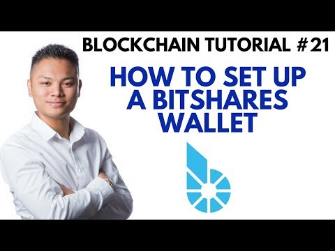 Blockchain Tutorial #21 – How To Setup A Bitshares Wallet