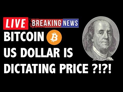 US Dollar Is Dictating Bitcoin (BTC) Price?! – Crypto Trading & Cryptocurrency News