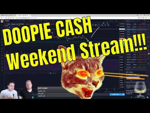 🔥 Doopie Cash Crypto Stream 🔥 | Bitcoin nieuws & Koers update