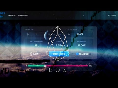 Earn Gaming Dividends for Life! It's the EOS Bet ICO the most used DAPP ever