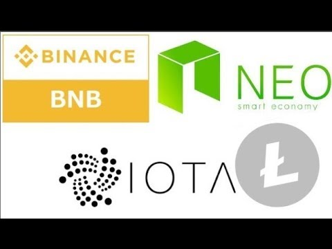 Analiza Kryptowalut NEO LTC BNB i IOTA  Update 20.08