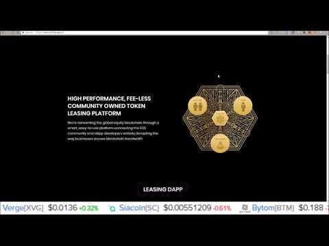 New EOS Leasing Dapp – Earn EOS Renting Your EOS