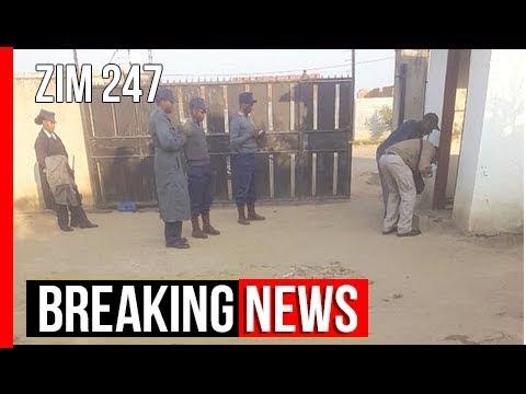 Cop battling for life after gunshots at ZEC official's home – Nehanda Radio | Zim 247 | Breaking …