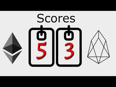 Score Check – Ethereum 5 : EOS 3