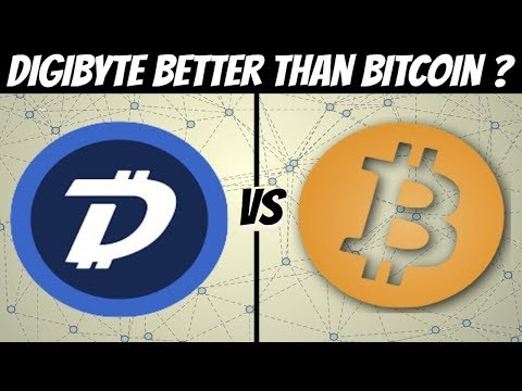 Digibyte VS Bitcoin – can #DGB overthrow the king #BTC?
