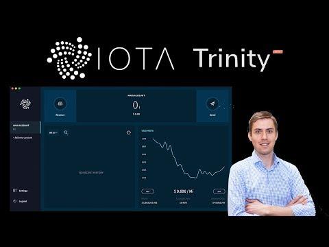 IOTA Trinity Wallet Anleitung (inkl. Guthaben Ein- & Auszahlen bei Binance und CoinFalcon)