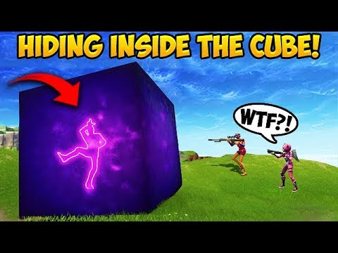 *NEW TRICK* GET INSIDE THE CUBE! – Fortnite Funny Fails and WTF Moments! #303