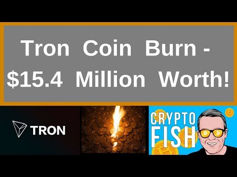 Tron Coin Burn – 15 4 Million Worth!