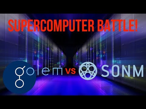 SUPERCOMPUTER BATTLE – Golem VS. Sonm