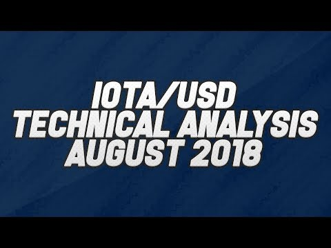 IOTA/USD Technical Analysis 2018 | IOTA August Analysis 2018 | Trade Cryptocurrency With TradingWill