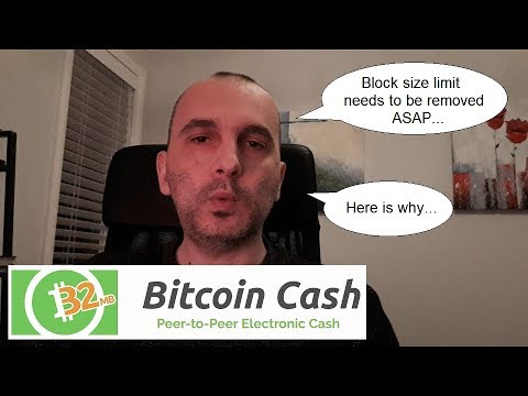 URGENT MESSAGE – Bitcoin Cash block size limitation needs to be removed ASAP! Here is why…