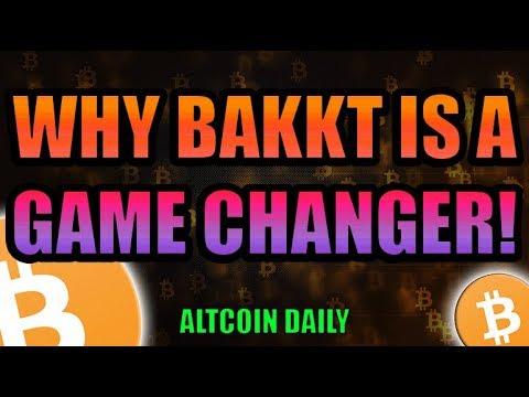 WHY BAKKT IS A GAME CHANGER FOR BITCOIN!  [Cryptocurrency News]