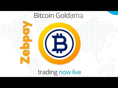 Zebpay Latest Update | Zebpay Introduced Bitcoin Gold (BTG) | Zebpay News Today