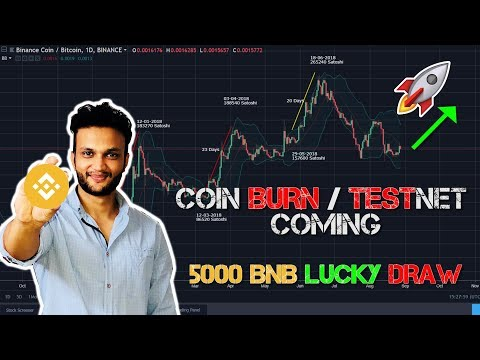 Binance Chain to Boom !! COIN BURN & TESTNET !!