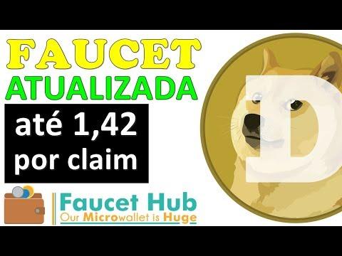 FAUCET DOGECOIN ATUALIZADO + DOGECOIN SUBINDOO 📈🚀🚀