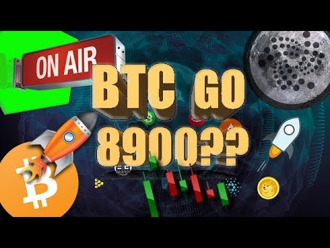 IOTA, SELLAR, BITCOIN TO THE MOON ????? BITCOIN GO TO 8,9K