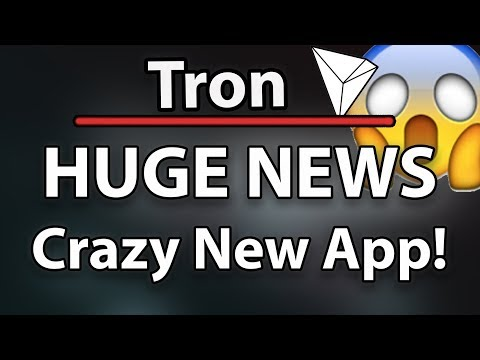 Tron (TRX) HUGE NEWS – CRAZY NEW APP! & WHAT'S GOING ON AUG 30TH?!