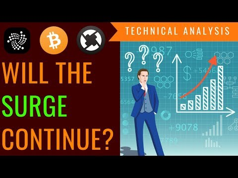 Will The SURGE CONTINUE? Quick Look at IOTA, X0 and Bitcoin – Technical Analysis