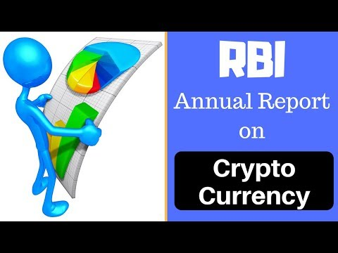 RBI Annual Report on Cryptocurrency