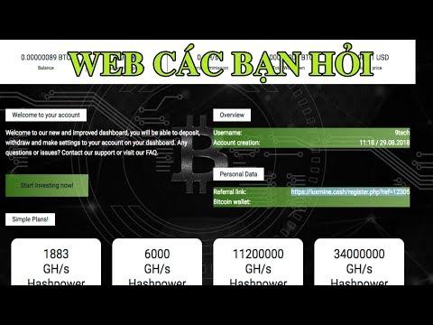 Web tặng 200Gh/s| Tặng $ đào cloud dogecoin| Web các bạn hỏi
