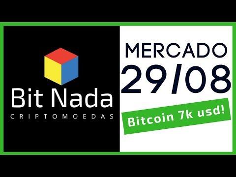 Mercado de Cripto! 29/08 Bitcoin / Cardano / Lobo de Wall Street / Governo
