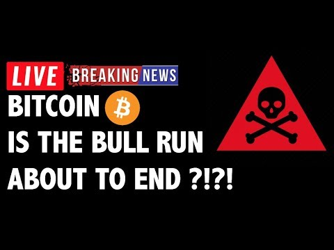 Is The Bitcoin (BTC) Bull Run About to End?! – Crypto Trading & Cryptocurrency News