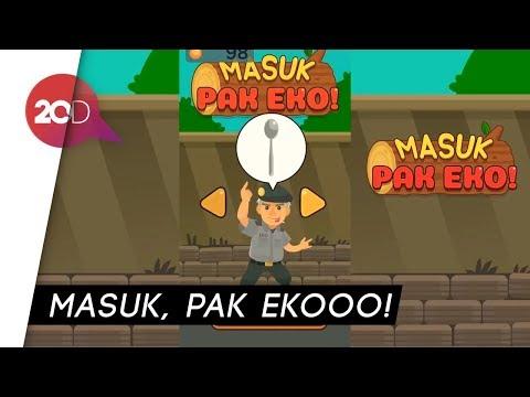 Kocak! Ada Game 'Masuk Pak Eko' di Play Store