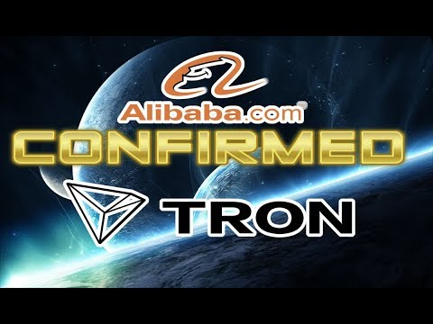 TRON (TRX) Alibaba Partnership Confirmed! $4 Here We Come!