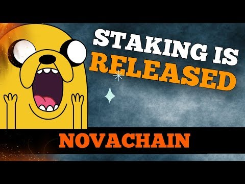 Novachain – Staking is RELEASED! REX BOT UPDATE is working smoothly!!! (100 NOVA GIVEAWAY)