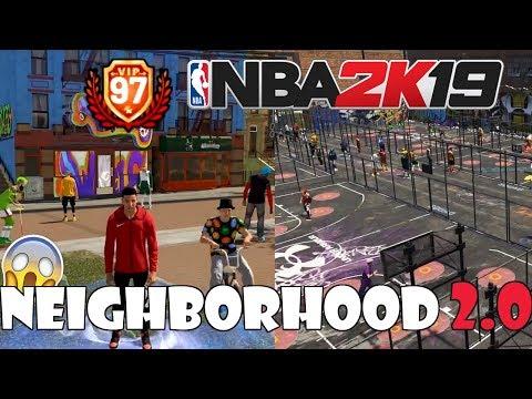 CHE IL NEIGHBORHOOD 2.0 SIA QUELLO GIUSTO?? TUTTE LE NOVITA' DEL NUOVO TRAILER DI NBA 2K19!