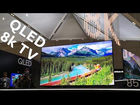 Samsung на IFA 2018 – 8k QLED TV, IoT, Note 8, Tab S4 и други