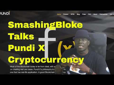 SmashingBloke Talks Pundi X Cryptocurrency
