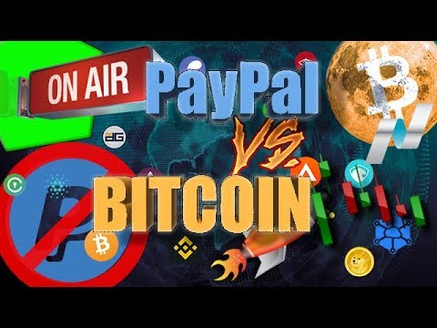 BITCOIN VS PAYPAL, EOS WIN ETH LOOSE, NASDQ,