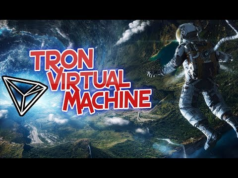 TRON Virtual Machine Launch Event! LIVE STREAM