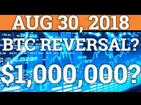 BITCOIN REVERSAL? WILL BTC REACH $1 MILLION? LITECOIN LTC, TRON TRX PRICE + CRYPTOCURRENCY NEWS 2018