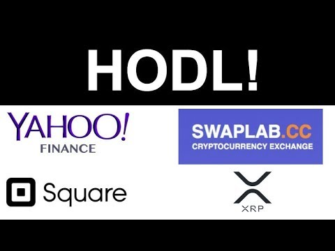 Yahoo Finance Crypto Trading! – Square Patent Crypto Payments – Binance CEO Bull Run – SWAPLAB XRP