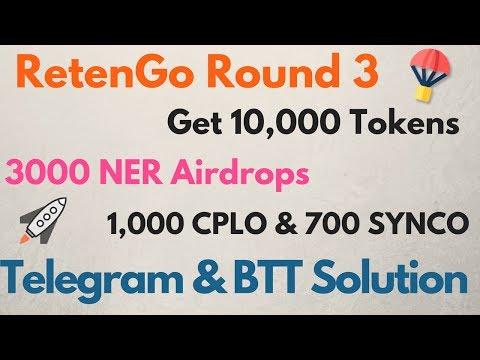 Get 10,000 REG Airdrop round 3 | 3000 NER | 1000 CPLO | 700 SYNCO  & 25 KOIN