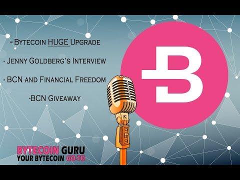 GuruTalk- BCN Hardfork, Bytecoin Interview info, BCN Giveaway!