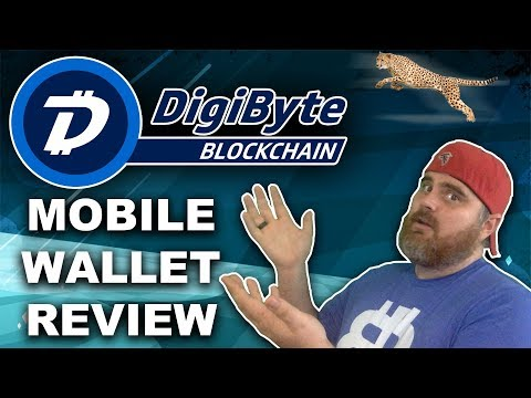 Digibyte Mobile Wallet Review | Live Transaction