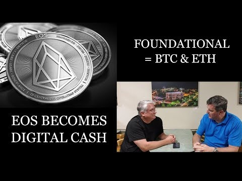 EOS Is Becoming Foundational Like Bitcoin & Ethereum