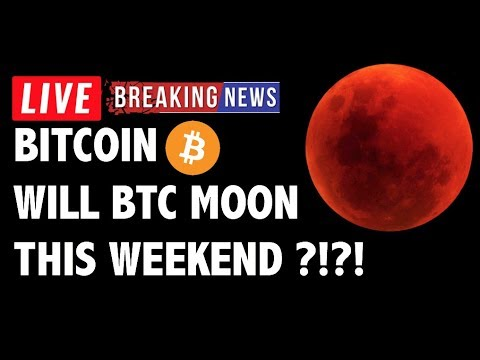 Will Bitcoin (BTC) Moon This Weekend?! – Crypto Market Technical Analysis & Cryptocurrency News