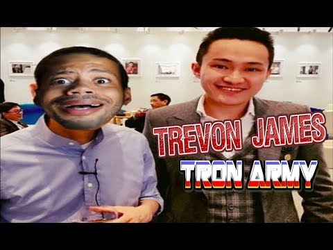 TRON (TRX) Trevon James Has Joined The Tron Army!?😱$4