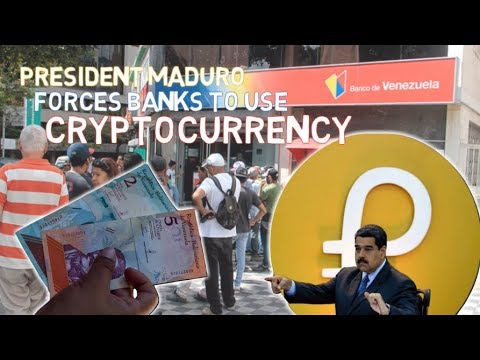 President Maduro Forces Banks To Use Cryptocurrency
