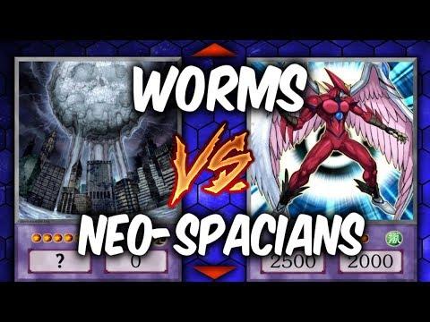 NEO-SPACIANS vs WORMS! (Yugioh Fun Decks)