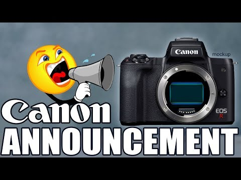 Canon EOS R Announcement What We Can Expect